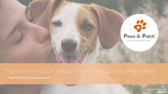 Paws & Patch Pitch Deck Bild Homepage