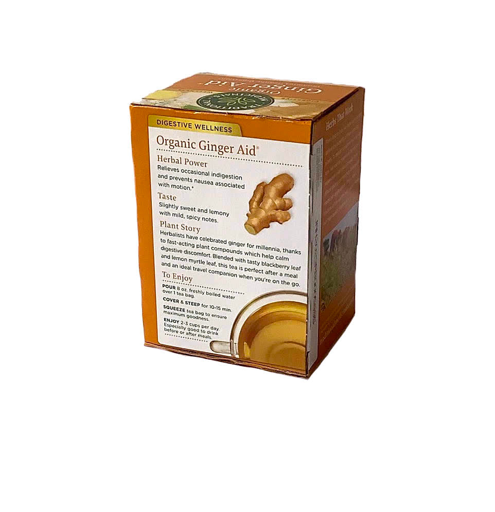 Traditional Medicinals Organic Ginger Aid® Tea