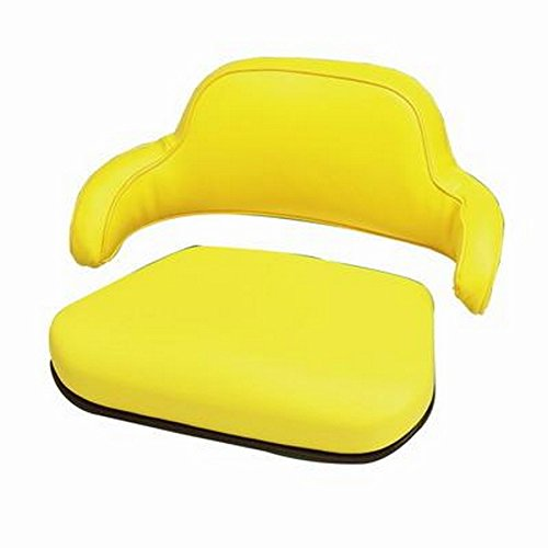 TSTY9379. Seat Cushion Set, steel-backed, for JD tractors (2 pc). Tractors: 820, 830, 1010, 1020,