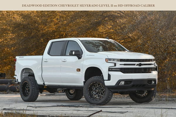 Gallery | 2019 DEADWOOD Edition Chevrolet Silverado - Level II