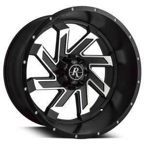 Remington Off-Road Wheels SAW Black Machined