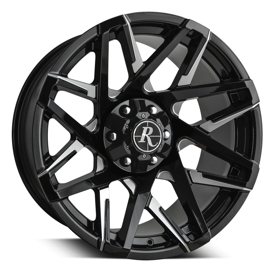Remington Off-Road Wheels Canyon Gloss Black Milled