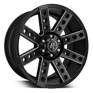 Remington Off-Road Wheels Buckshot Black Milled