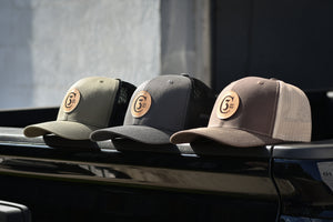 3C Trucks Hats / Black & Charcoal