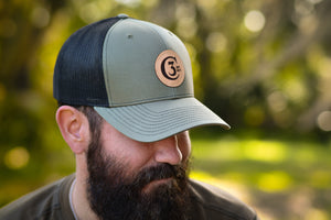 3C Trucks Hats / Olive & Black