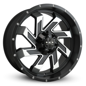 HD Off-Road Wheels Truck & SUV Wheels 20x9.0 | 6x135/6x139.7 | et15m | 5.6 in | 106.2mm HD Off-Road Wheels SAW | Satin Black with Machined Face