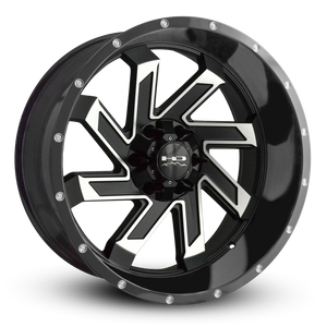 HD Off-Road Wheels Truck & SUV Wheels 22x10.0 | 6x135/6x139.7 | et-10m | 5.12 in | 106.2mm HD Off-Road Wheels SAW | Satin Black with Machined Face