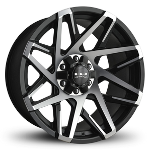HD Off-Road Wheels Truck & SUV Wheels HD Off-Road Canyon Wheels | Satin Black Machined Face