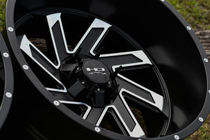 HD Off-Road Wheels Truck & SUV Wheels HD Off-Road Wheels SAW | Satin Black with Machined Face