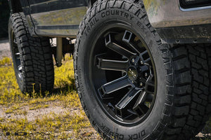HD Off-Road Wheels Truck Wheels HD Off-Road Hollow Point Wheels | Satin Black Milled