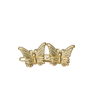 1 x 2 Butterfly - Gold plated - AYM STORE
