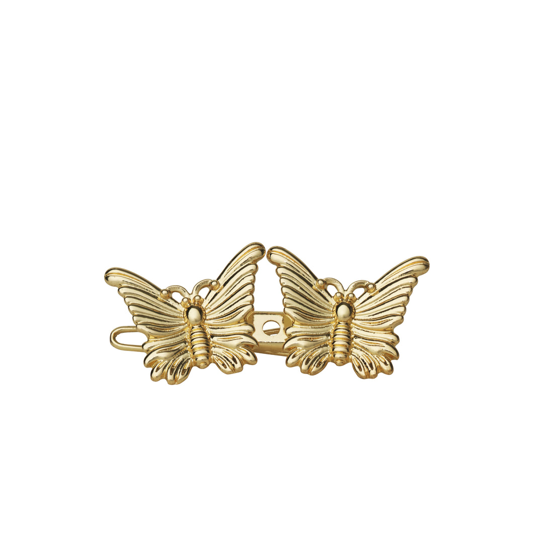 AYM 1 x 2 Butterfly Hair accessories Gold