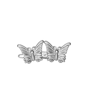 1 x 2 Butterfly - Silver - AYM STORE