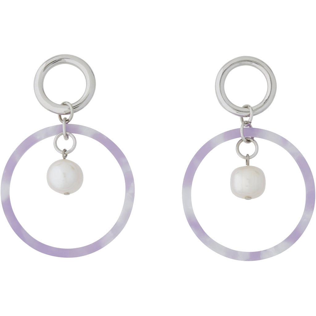 AYM Abelia Earrings Windsor Violet