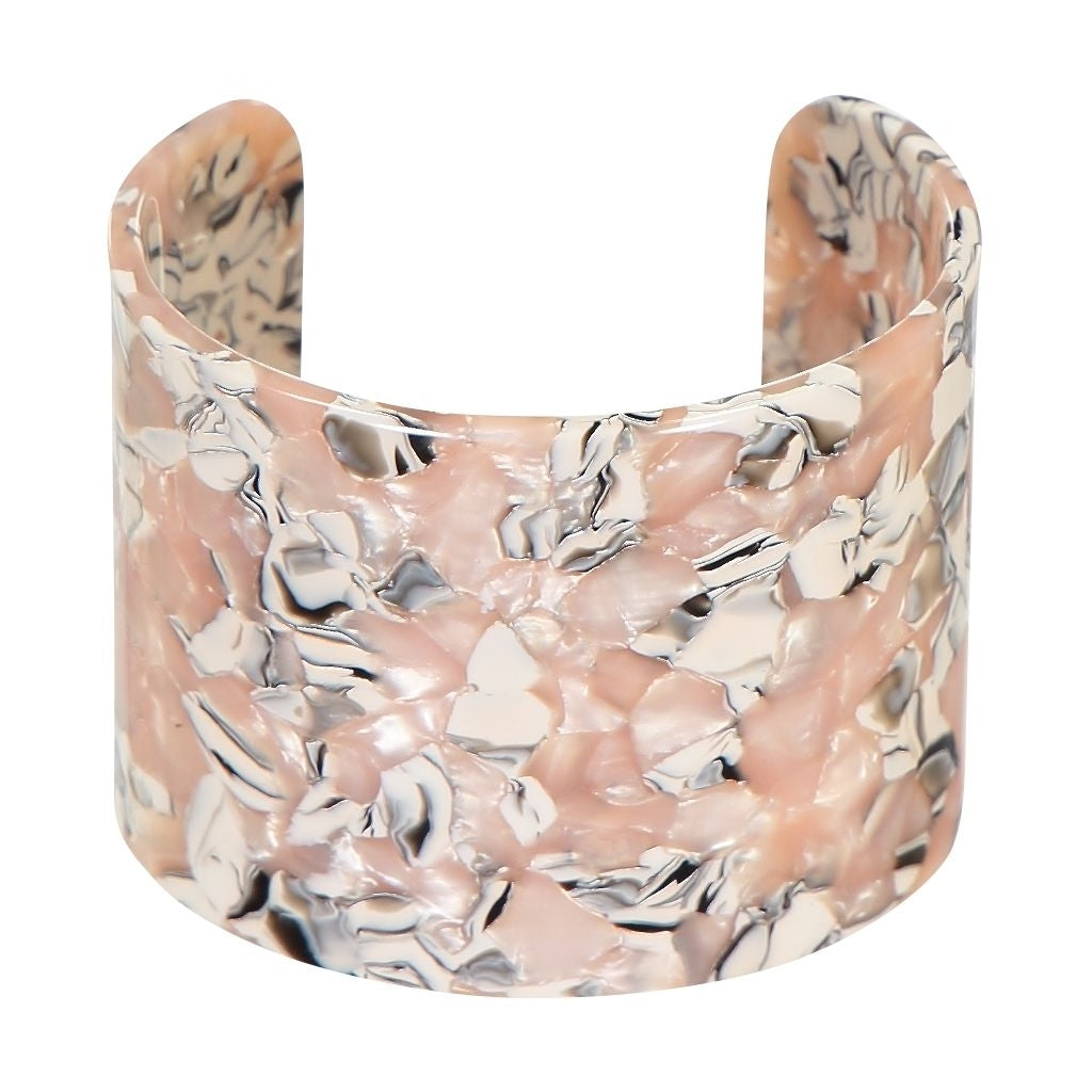 Anabelle cuff bracelet - Miami rose - AYM STORE
