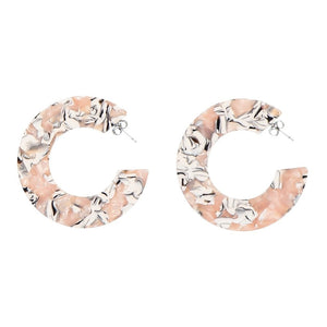 AYM Ananda Earrings Miami rose