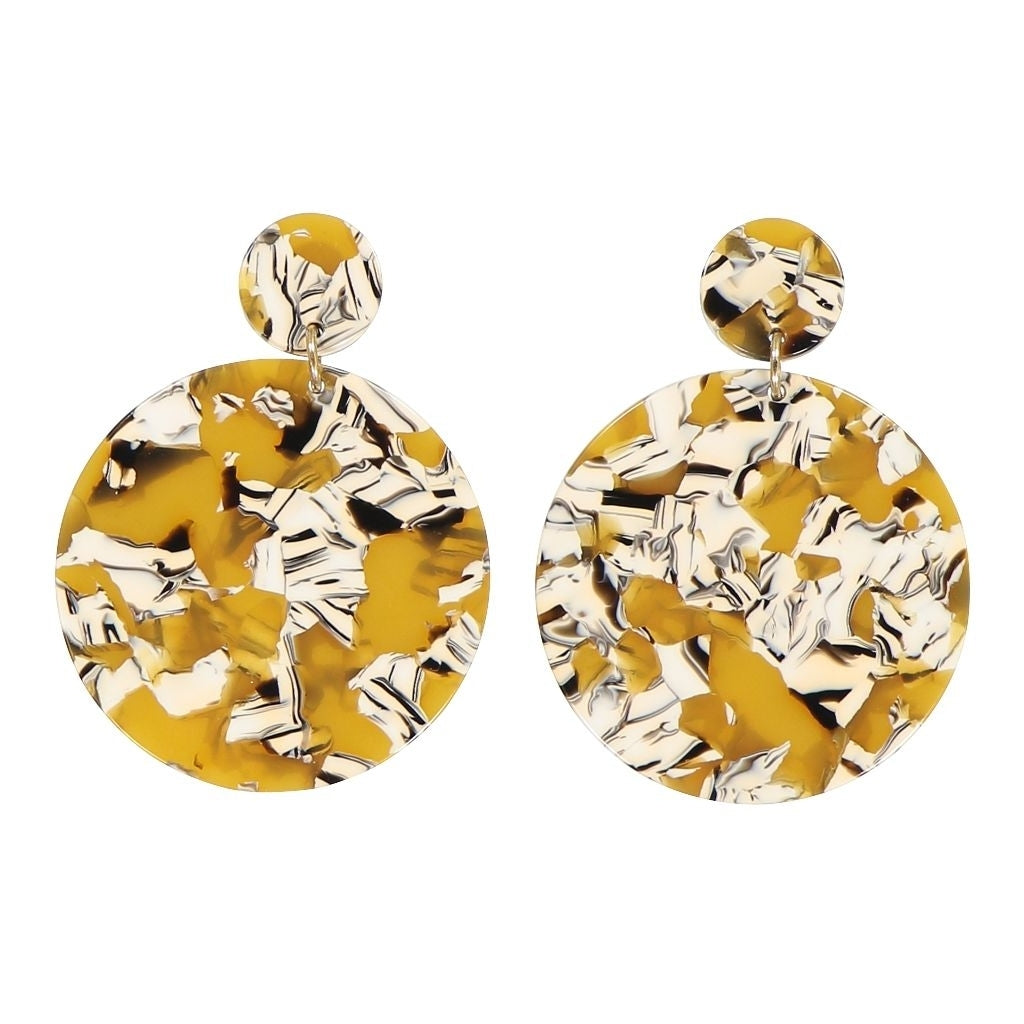 AYM Anca Earrings Copenhagen yellow