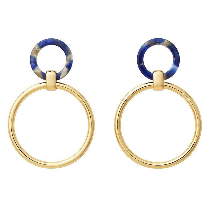AYM Angharad Earrings Barcelona blue