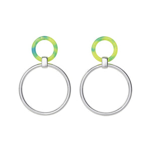 Angharad earrings - Malibu Lime - AYM STORE
