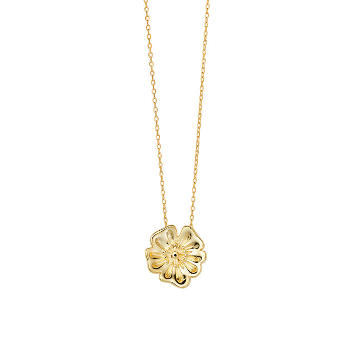 AYM California Poppy Necklaces Gold