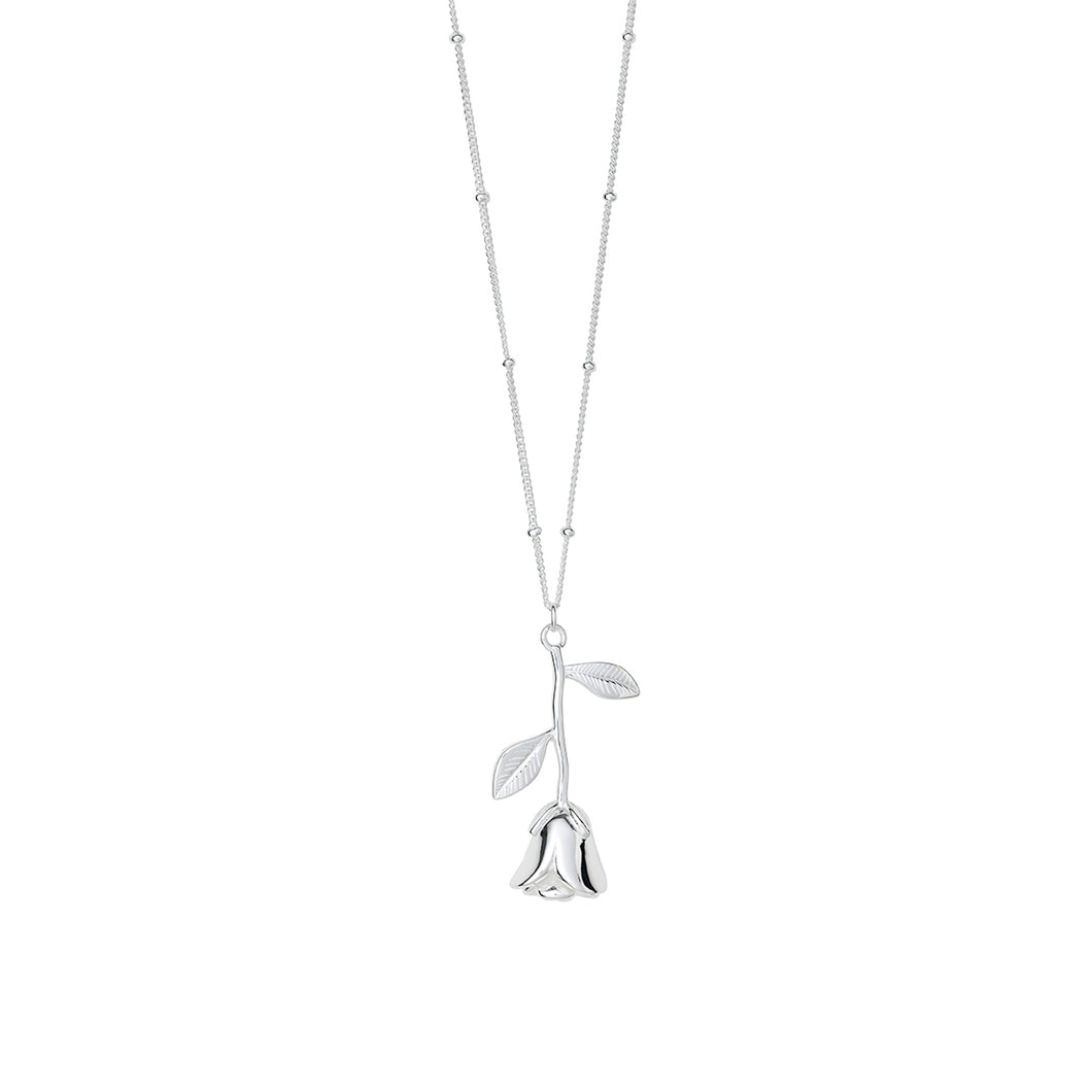 AYM California Rose Necklaces Silver