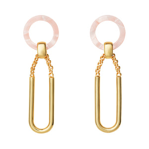 AYM Mae Earrings Jaipur pink