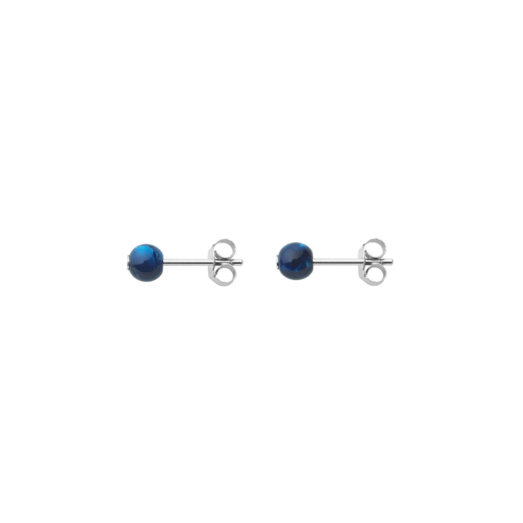 AYM Martha Earrings Alaska navy