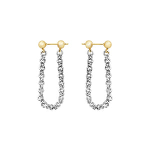 AYM Maya Earrings Silver
