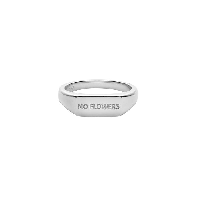 AYM No Flowers Rings Silver
