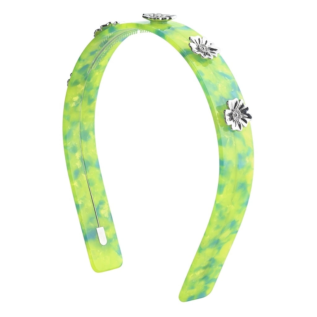 Poppy Hair band - Malibu Lime - AYM STORE
