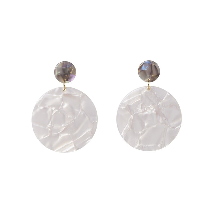 AYM Addie Earrings Ice/Shell