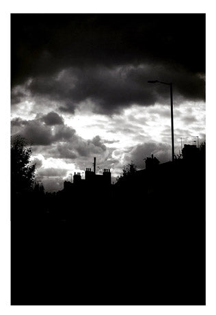 🌴NEW: CLOUDS OVER SHELBOURNE ROAD A6 POSTCARD PRINT