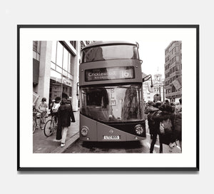 🌴NEW: BUS, VICTORIA STATION 8.3 x 11.7 (A4) PHOTOGRAPHIC PRINT LIMITED EDITION 30