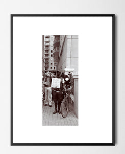 🌴NEW: MAN LGBTQ PROTEST SIGN 8.3 x 11.7 (A4) PHOTOGRAPHIC PRINT LIMITED EDITION
