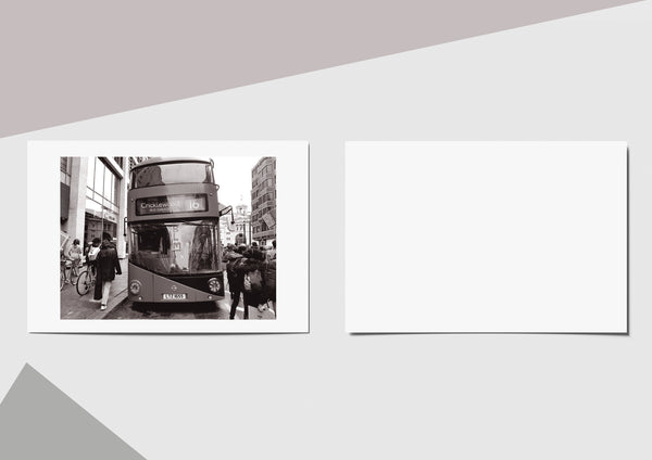 🌴NEW: BUS,VICTORIA STATION  A6 POSTCARD PRINT LIMITED EDITION 50