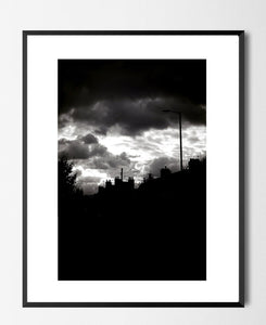 🌴NEW: CLOUDS OVER SHELBOURNE ROAD 8.3 x 11.7 (A4) MEDIUM PHOTOGRAPHIC PRINT LIMITED EDITION