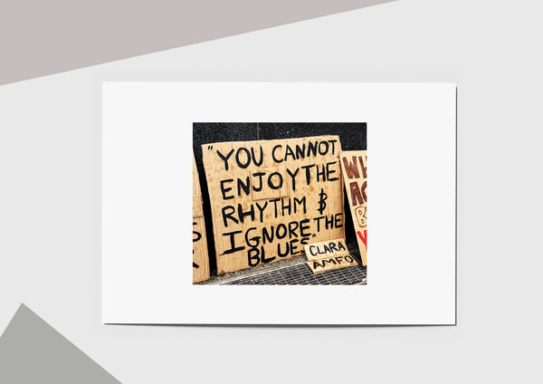 🌴NEW: SIGNS LEFT AT VICTORIA A6 POSTCARD PRINT LIMITED EDITION 30