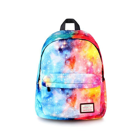 Fiery Galaxy Backpack