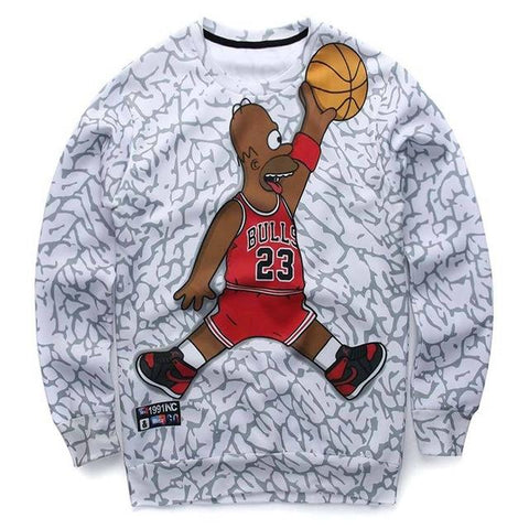 Dunk Simpson sweatshirt