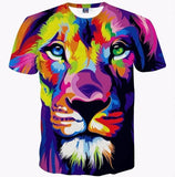 3D Lion Shirt Collection
