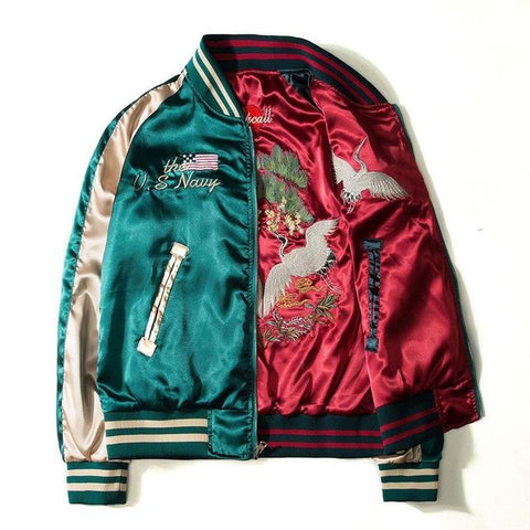 HoodCity Silk Bomber Jacket (Limited Edition)