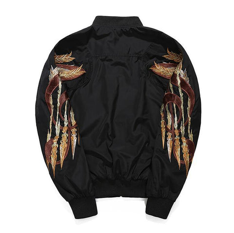 Arrow Winged Bomber Jacket