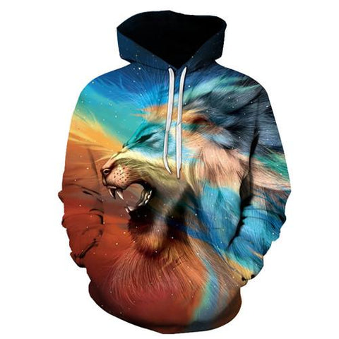 Ethereal Lion Hoodie