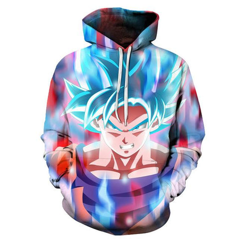 Goku Saiyan Hoodie (Collection)