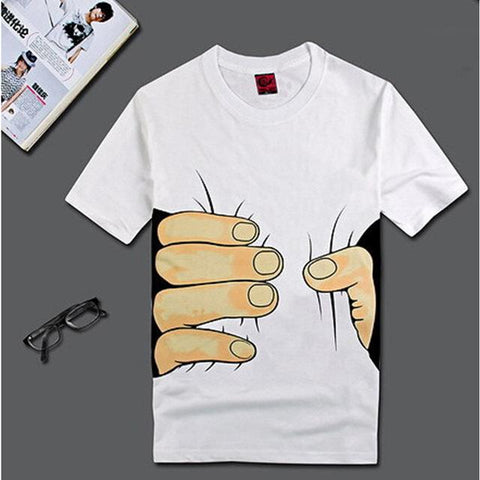 Squeezed Hand Shirt