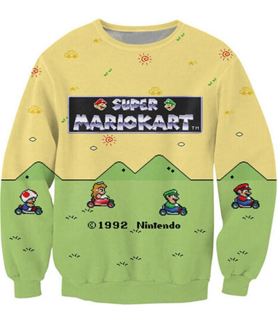 Super Bros Sweater