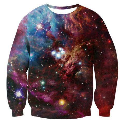 Purple Galaxy Sweatshirt