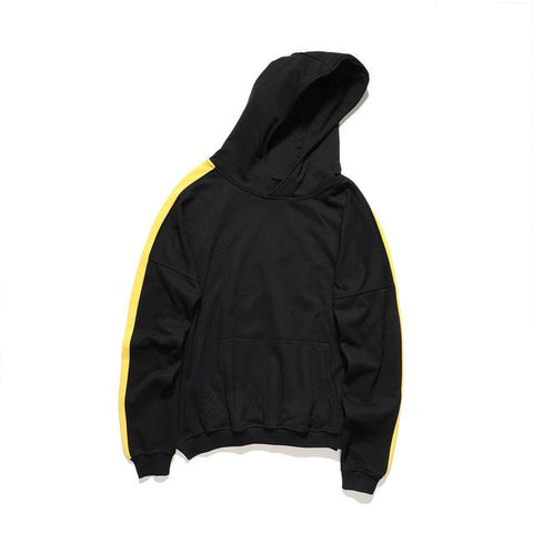 Retro Track Hoodie Black/Yellow