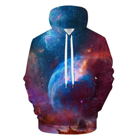 Chaotic Space Hoodie