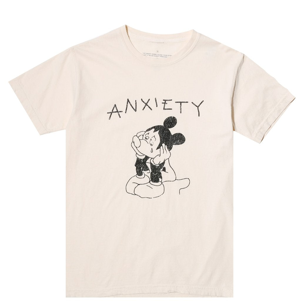 ANXIETY SS TEE IVORY